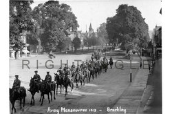 Army manoeuvres 2, 1913