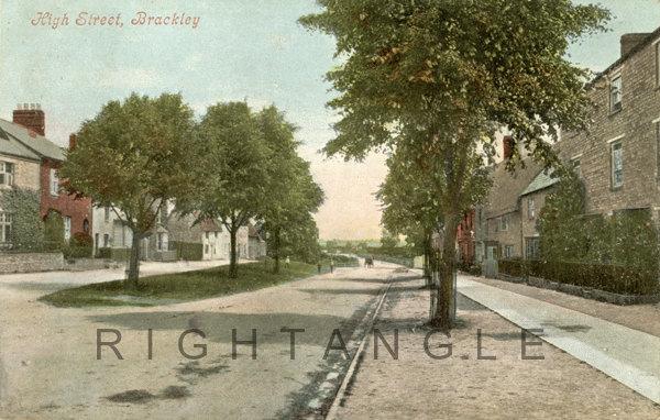 Upper High Street circa 1913
