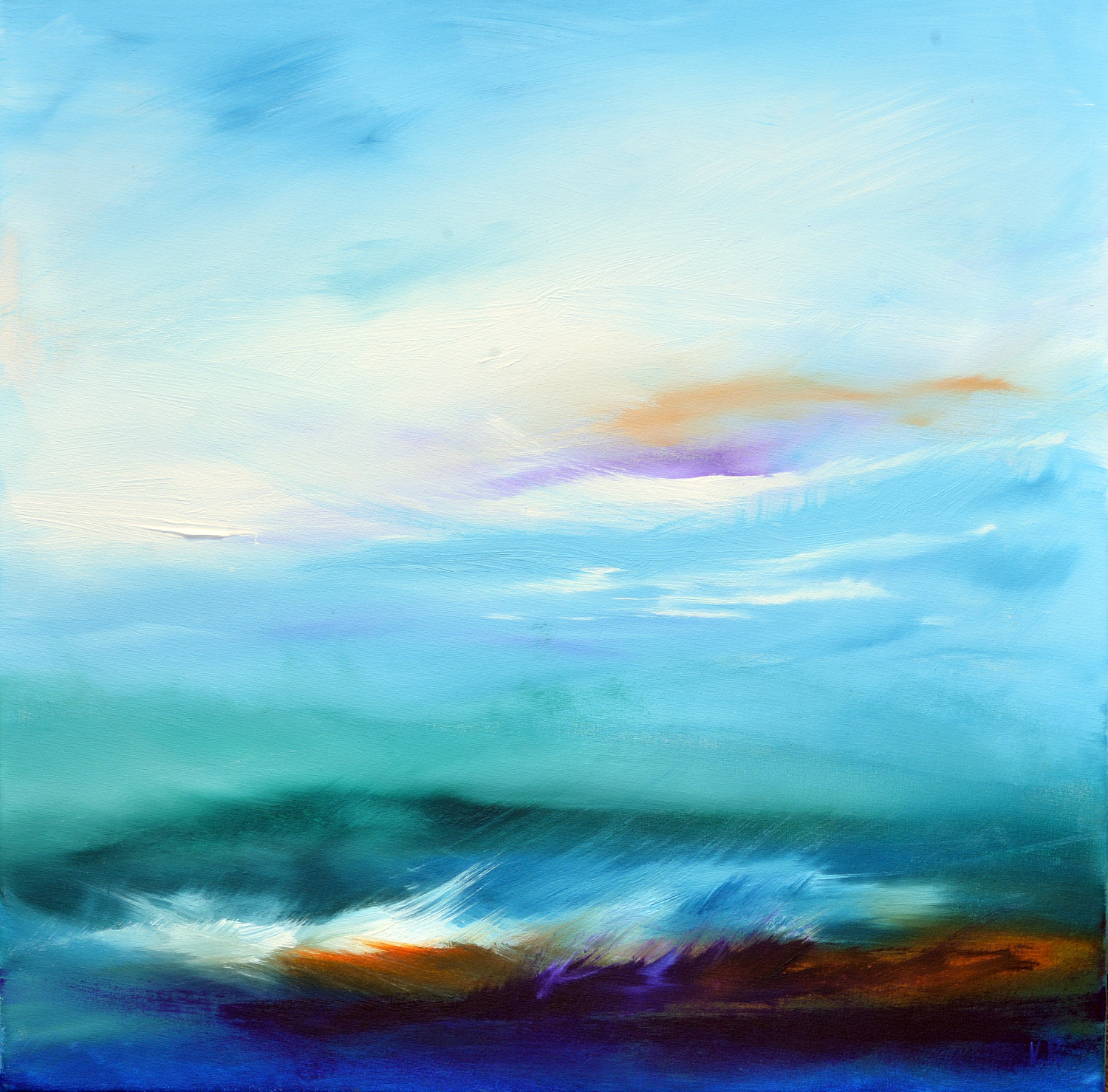 'Blue Storm 2' by Val Pendleton