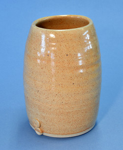 Oat coloured jar