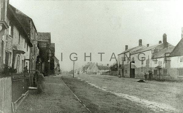 Flying Horse Pub circa 1870.