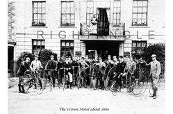 Cyclists 1880