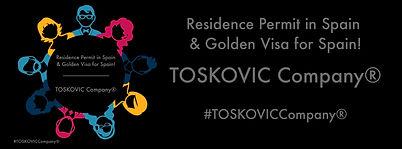 Residence Permit in Spain & Golden Visa for Spain - TOSKOVIC Company®