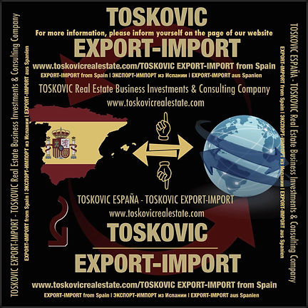 TOSKOVIC EXPORT-IMPORT from Spain