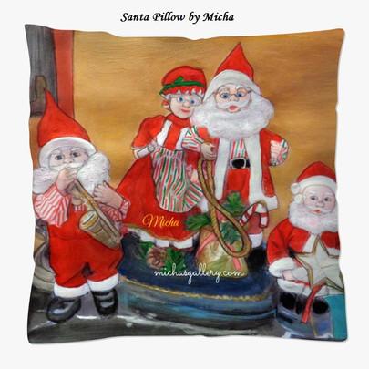Santas Pillow