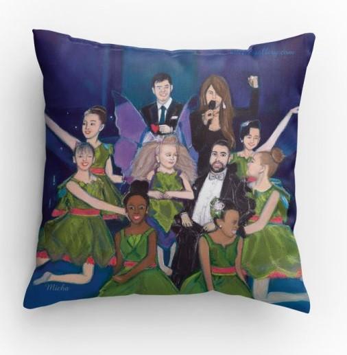 Fairies of Hope (pillow)