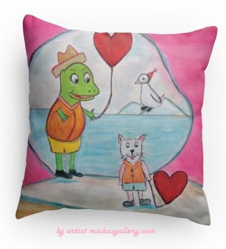 Dino (pillow)