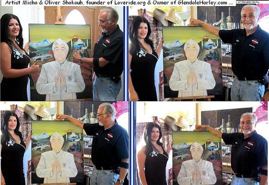 3 of 3 Oliver Shokouh Glendale Harley Davidson Owner and Love Ride founder and artist micha.JPG
