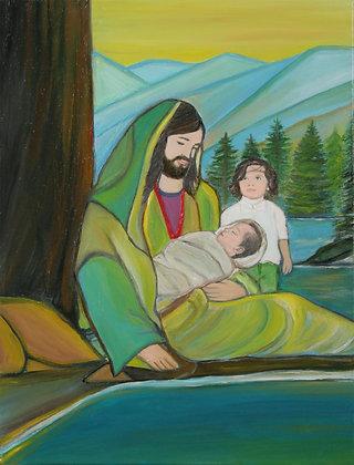 Jesus & Child
