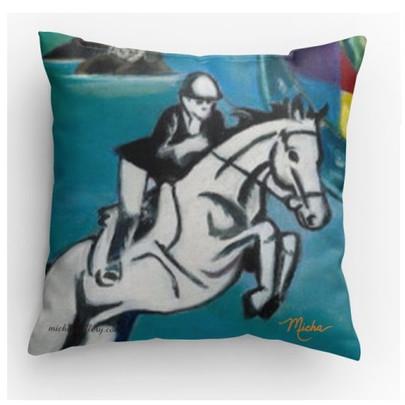 Horse rider (pillow)