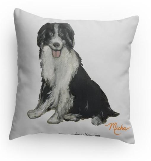 Collie Dog Pillow