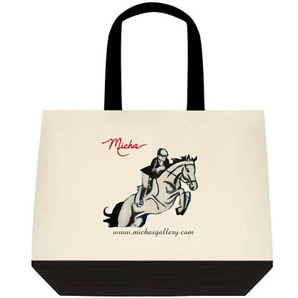 Equestrian White Horse