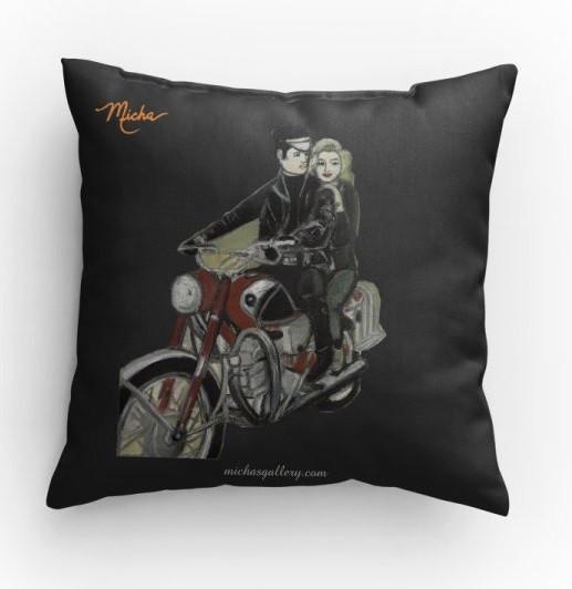 Elvis & Marylin (pillow)
