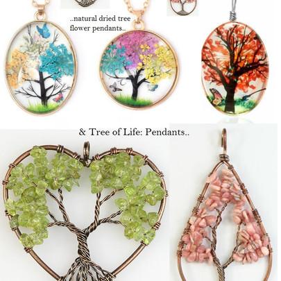 trees pendants