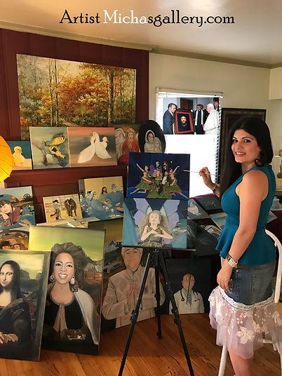 Artist Micha