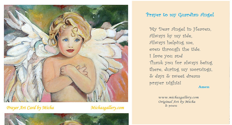 Angel Prayer Card...