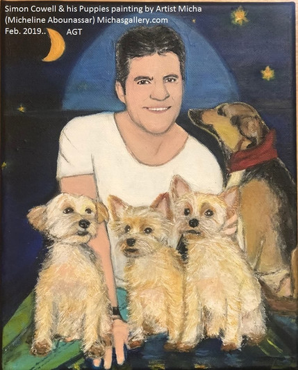 simon and his dogs