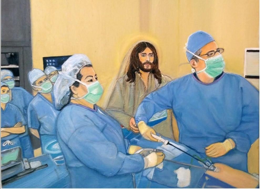 Doctors of Hope: painting by micha.jpg