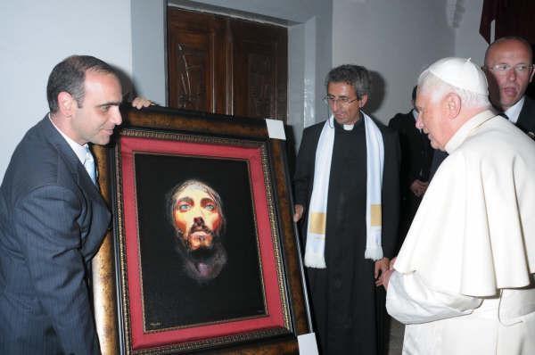 His Holiness Pope Benedict XVI...