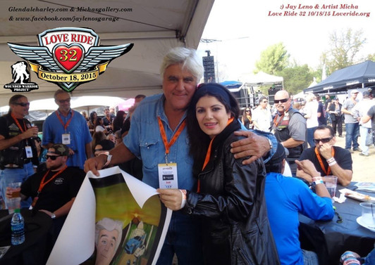 9 Jay Leno and his painting with Harley Davidson.jpg