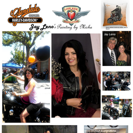 Jay Leno & his cars & motorcycles by micha