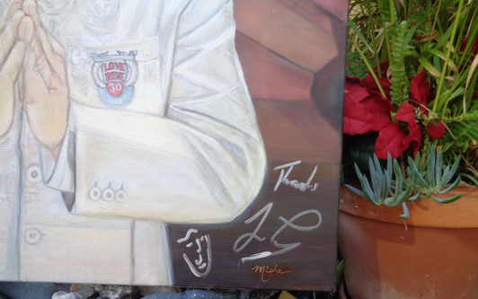12 jay leno signed his painting.jpg