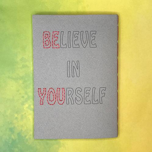 Believe in Yourself פנקס