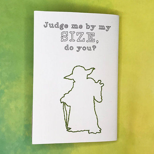Judge me by my size, do you? פנקס