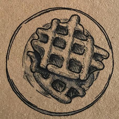 original sketch Belgian Waffle