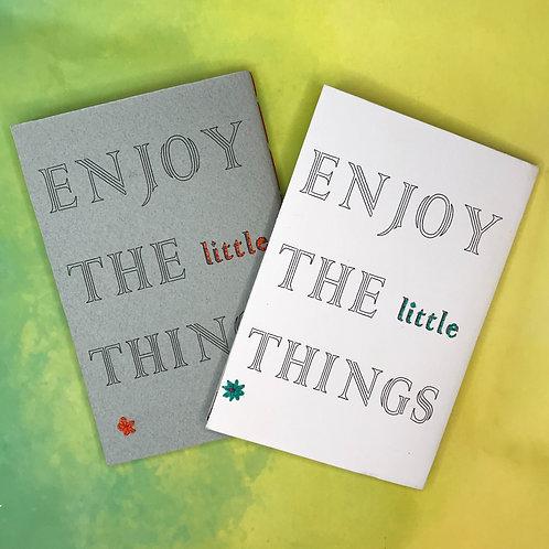 Enjoy the Little Things פנקס