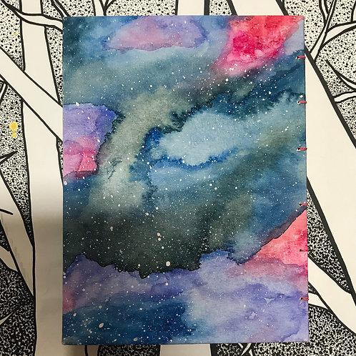ג'אנק ג'ורנל גלקסיה בצבעי מים