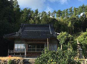 柿本躬都良にゆかりのある横山寺