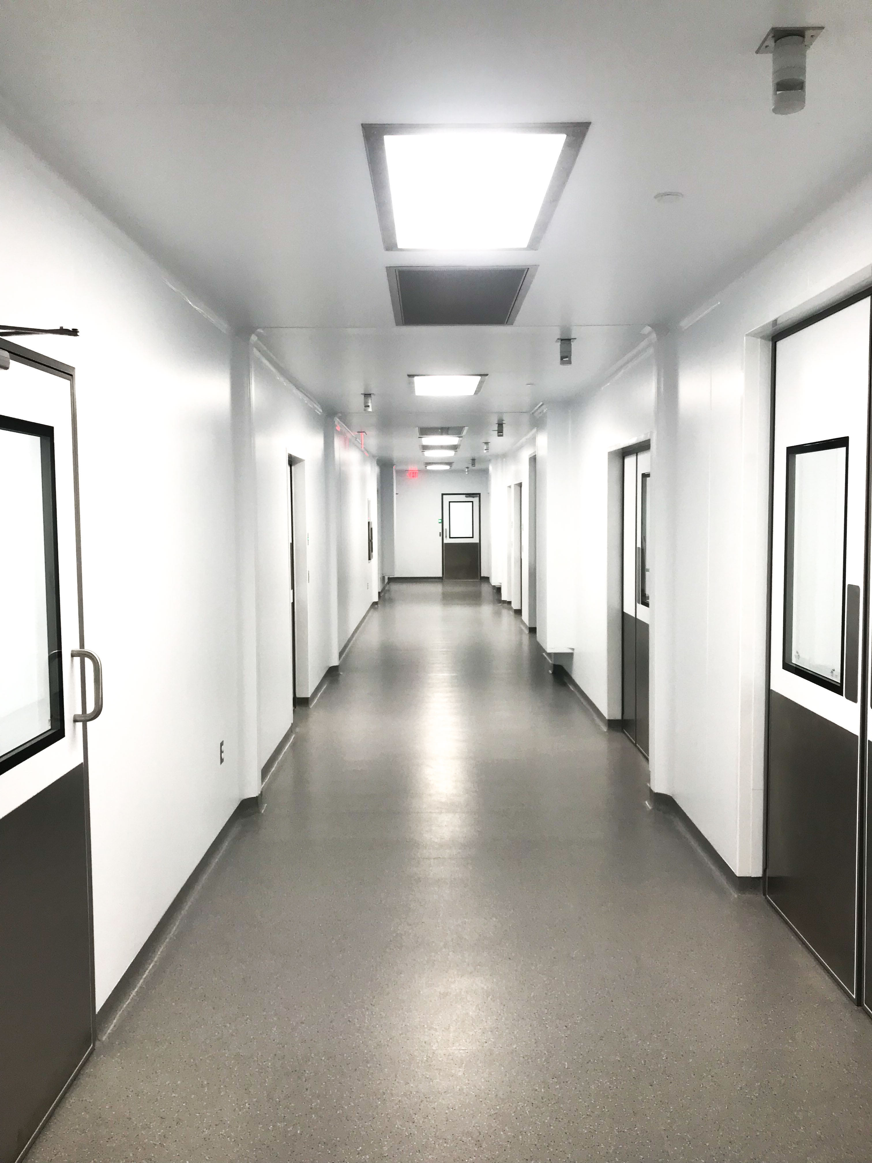 Cleanroom Corridor G-CON PODs