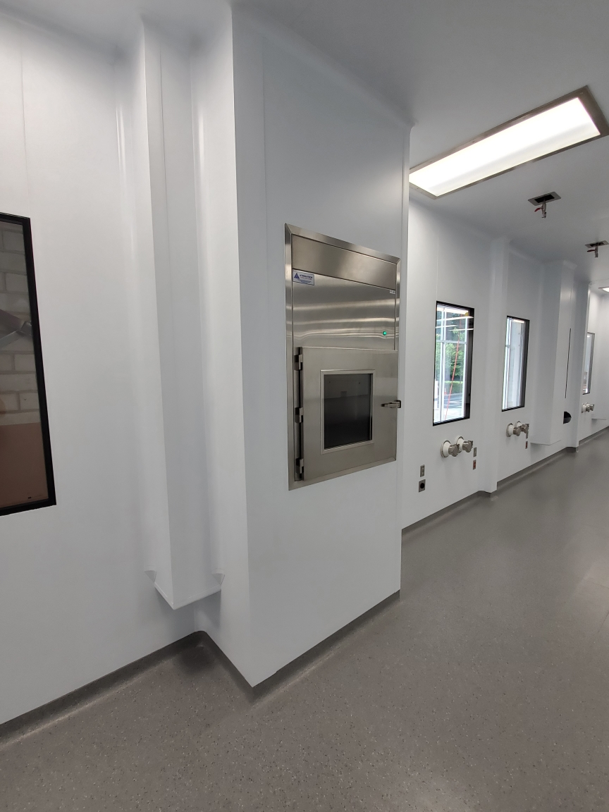 prefabricated cleanrooms, modular cleanrooms