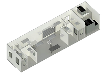 Prefabricated cleanrooms modular cleanrooms flexible facilities
