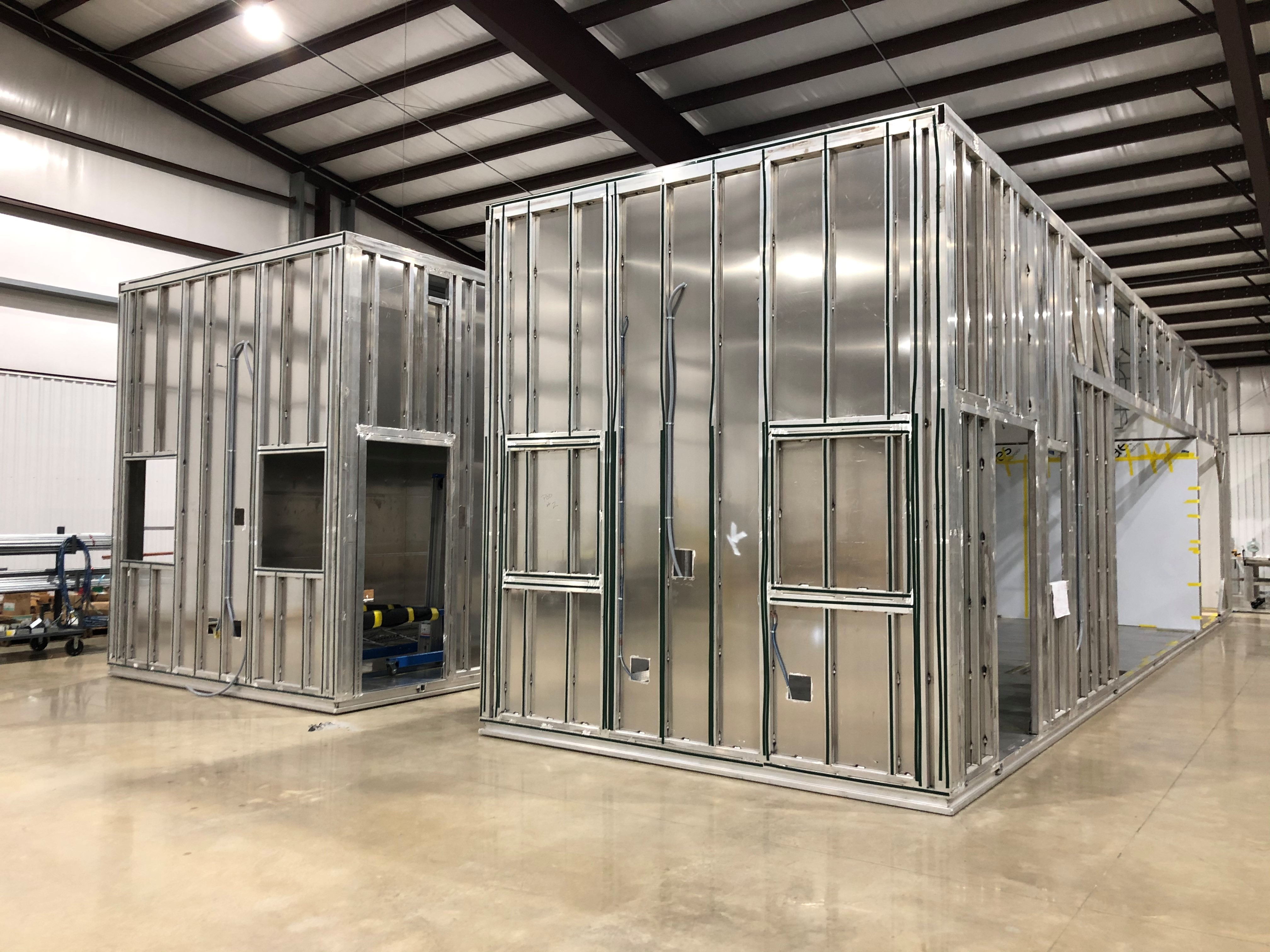 Cleanroom Structure G-CON PODs