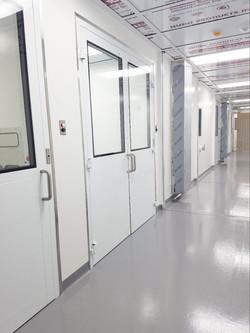 Cleanroom POD Corridor