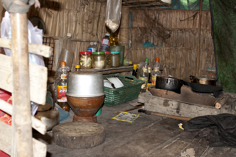 Local village kitchen