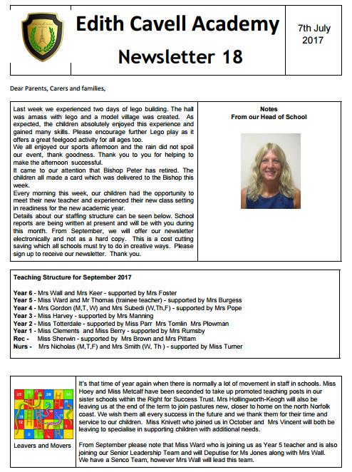ECAN Newsletter 7.7.17