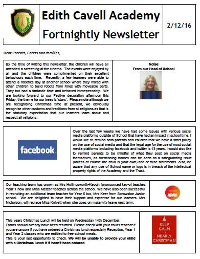ECAN Newsletter 2.12.16