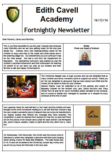 ECAN Newsletter 16.12.16