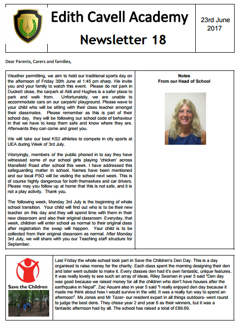 ECAN Newsletter 23.6.17