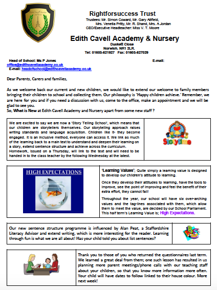 ECAN Newsletter 9.9.2016