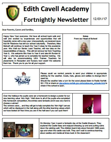ECAN Newsletter 12.1.17