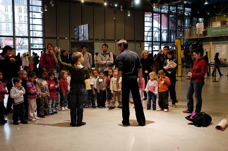 Benoît Turjman, Alexandra Debouhellier, Centre Pompidou, Clin d'Oeil