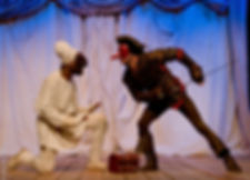 Benoît Turjman, Jean-Bernard Ekam-Dick, Nelly Quette, Gilbert Bourébia, Mystère Bouffe, Christophe Colomb, commedia dell'arte
