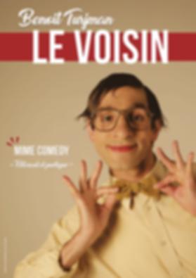 Benoît Turjman, mime, Le Voisin, humour, comedy