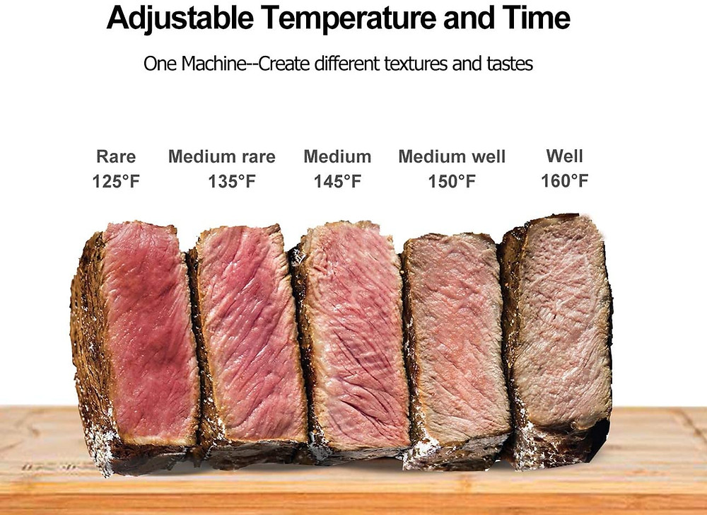 Healthy life selections recommends Sous Vide for cooking meats perfectly retaining vitamins and nutrients and better food safety temperatures and accuracy