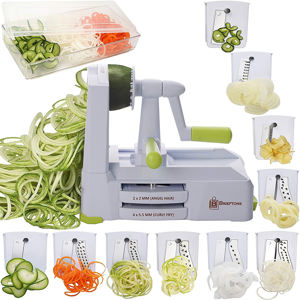 Spiralizer for keto friendly vegan pasta for ketogenic diets free shippings savings healthy meals healthy life selections website recommended by Marsha Merington