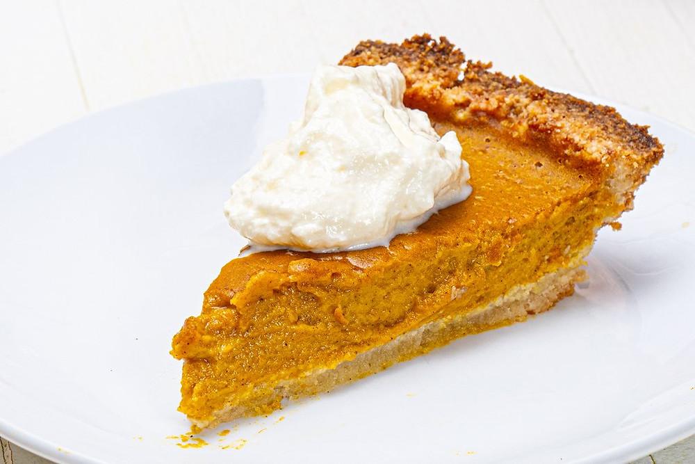 Low carb keto friendly pumpkin pie recipe